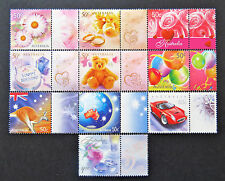Australian Decimal Stamps: 2003 Celebration and Nation - Set of 10 MNH