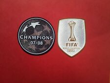 Patch Football Manchester United Ligue Des Champions 2008