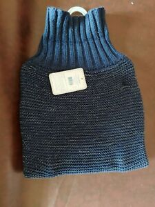 Top Paw Blue Reflective Sweater Size Large