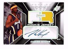 2006-07 SPx Auto Jersey James White #d 117/1199