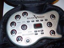BEHRINGER BASS V-AMP+CASE+ACC+FREESHIPPING!