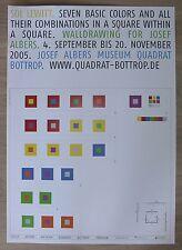 Quadrat Bottrop / Josef Albers Museum # SOL LEWITT # 2005, mint