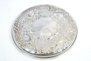 """NEW OLD STOCK STERLING SILVER TOWLE COMPACT 3.25"""" MIRROR"""