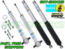 BILSTEIN 24-256759/33-256764 FRONT/REAR 5100 SERIES SHOCK KIT 2014 FORD F150 4WD