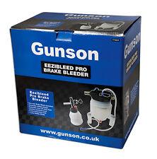 Gunson Pro Eezi Bleed Pro Brake Bleeder Kit With Filler EEZIBLEED MASTER KIT