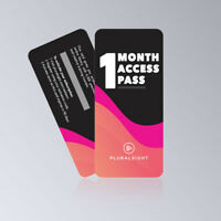Pluralsight 1 Month Premium No Shared Membership Full Access to All Courses