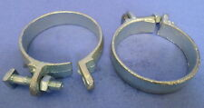 """3"""" Galvanized O Clamp Lot Of 2 *Pzb*"""