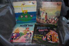 LOT of 7 Vintage Walt Disney Children's Albums Vinyl LP (1) YELLOW SUBMARINE