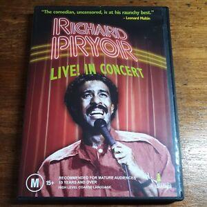 Richard Pryor Live in Concert DVD R4 LIKE NEW FREE POST