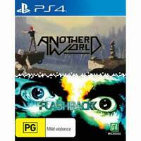 Another World x Flashback  PS4 Playstation 4 Brand New Sealed