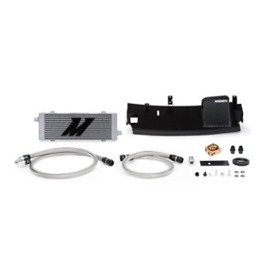 Mishimoto Silver Thermostatic Oil Cooler for 2016+ Ford Focus RS
