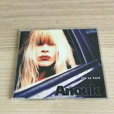 Anouk - It's So Hard - CD Single PROMO - 1998 BMG come nuovo - RARE!