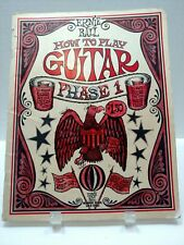 Ernie Ball 1972 How to Play Guitar Phase 1 Sheet Music Book T76