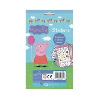 Children's Kids Peppa Pig 700 Stickers Fun Party Loot Bag Stocking Fillers