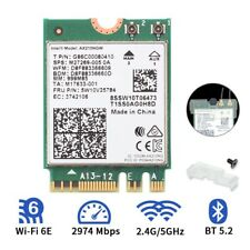 Dual Band Intel Wi-Fi 6E AX210NGW NGFF 802.11AX 2400Mbps Wifi Card Bluetooth 5.2