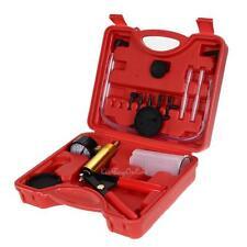 Hand Held Vacuum Pump Pressure Tester Kit + Brake Fluid Bleeder / Car Motorbike
