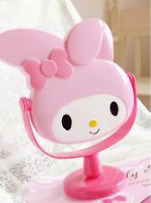New Cute My Melody Desk Table Pink Bow Women Make-up Mirror Cosmetic Mirror