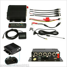 12V/2A Mini 4CH AHD Car Autos Mobile DVR SD Card 3G Wifi Realtime Video Recorder