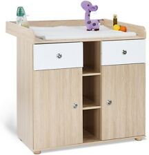 Baby Changing Table Solid Wood Station Room Furniture for Home Use Infant Outfit