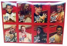 WWE Lenticular 3D Valentines Cards Sheet 8 Rock John Cena Wrestling Undertaker