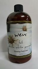 WEN BY CHAZ DEAN FALL VANILLA WHITE PUMPKIN CLEANSING CONDITIONER 16 OZ. SEALED