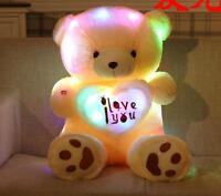 19''/50cm Night Light Plush Lovely Teddy Bear Soft Doll Toys gift for girlfriend