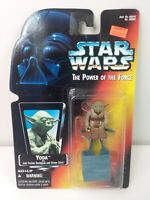 Star Wars Power of the Force YODA Action Figure 1995 Kenner NOC #69570 LucasFilm