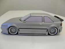 Volkswagon Corrado 1:10 RC Corpo Shell e Decalcomania Set VW Kamtec Tamiya HPI ABS