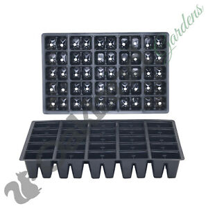 10 X 50 Cell Seed Tray Inserts Full Size Plug Trays Bedding Plant Pack
