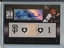 Bengie Molina 2010 Topps Tribute Autograph Game Used Bat #42/50