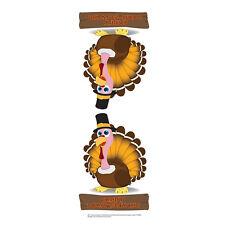 TURKEY CENTERPIECE Thanksgiving Dinner Table CARDBOARD CUTOUT Standup Standee