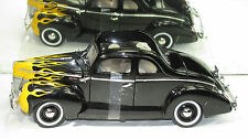 1940 FORD DELUXE V8 COUPE BLACK FLAME NEW IN BOX!!!!!!