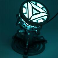 The Avengers Iron Man Arc Reactor LED Light Stark Gift Cosplay Prop Model Figure
