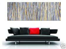 180cm x 60cm Landscape not Aboriginal Oil Painting with Gold by Jane Crafword
