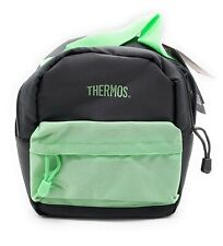 Brand New Thermos Insulated Lunch Kit Bag Gray & Green BPA & PVC Free