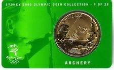 2000 $5 Archery Sydney Olympic Games Coin  9 of 28