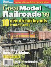 GREAT MODEL RAILROADS '99 BOSTON & MAINE ERIE BNSF B&O CINCINATTI Sn3 RIO GRANDE
