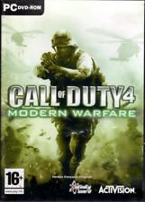 JEU PC DVD ROM./......CALL OF DUTY 4....MODERN WARFARE.......