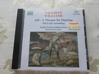 VAUGHAN WILLIAMS - JOB A MASQUE FOR DANCING THE LARK ASCENDING - 1997 NAXOS
