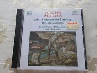 VAUGHAN WILLIAMS - JOB A MASQUE FOR DANCING THE LARK ASCENDING - 1997 NAXOS
