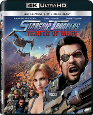 Starship Troopers: Traitors Of Mars [New 4K UHD Blu-ray] With Blu-Ray, 4K Mast
