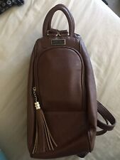 Brown Unique Leather Bag Pack