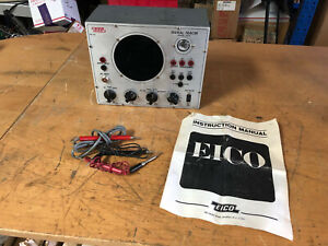 Vintage EICO Signal Tracer model 147A with manual