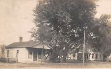 Portland Indiana~Big Homes on High Street~Sunday School Stats RPPC 1911 As Is