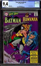 Brave and the Bold #70...CGC 9.4 NM...Batman and Hawkman...Infantino cover.
