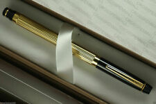 Cross Metropolis Black & Gold Rollerball Pen Made In Usa In Box