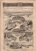 1881 Scientific American August 6 - Mother of Pearl;Precursors to Bell Telephone