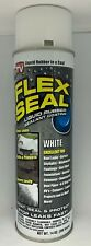 Flex Seal Spray Liquid Rubber Sealant Coating Stop Leaks Wet Dry 14oz Can, White