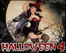 H4 Halloween Digital Backdrops Backgrounds Senior Holiday Frames Photoraphy Prop