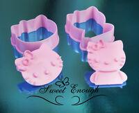 Hello Kitty Cookie Cutter plunger Sugarcraft Fondant Cake Decoration Set press